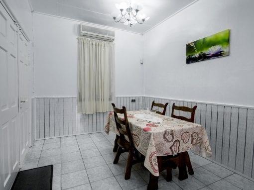 Vakantiehuis Suriname Eethoek 2