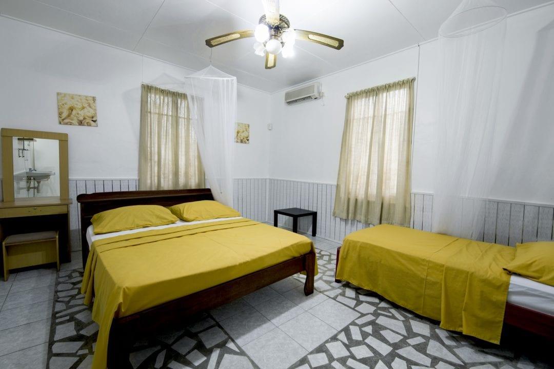 Vakantiehuis Suriname Slaapkamer groot 4